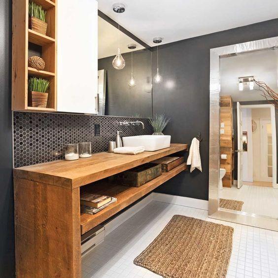 comment d corer sa salle de bain dans un style industriel. Black Bedroom Furniture Sets. Home Design Ideas