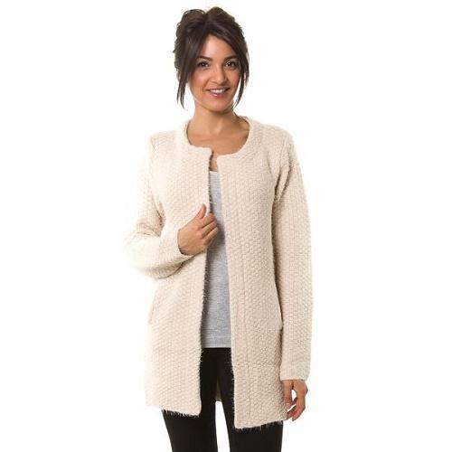 Gilet en laine pour femme